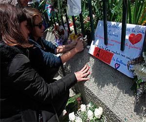 Recuerdan en Bolivia a las víctimas de los atentados en París