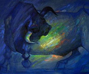 La obra pictórica de Jaime Calizaya en la Galería de Arte UPB