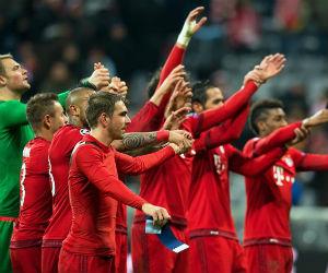 Bayern Múnich goleó y pasó a octavos siendo primero de su grupo