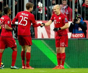 Bayern Múnich pasó a octavos y destrozó al Olympiacos