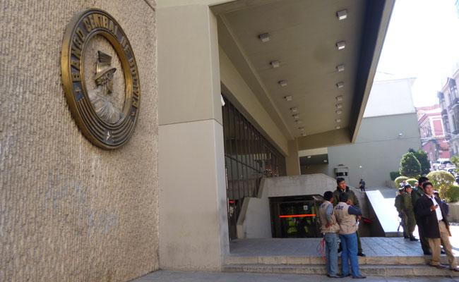 Sede central del Banco Central de Bolivia. Foto: ABI
