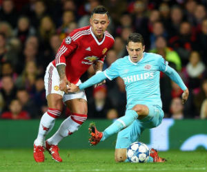 Manchester United y PSV protagonizaron un aburrido partido