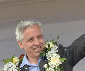Álvaro García Linera recibe premio 'José María Aricó'
