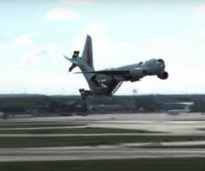 Vea el impresionante aterrizaje de este Boeing 777 en Alemania