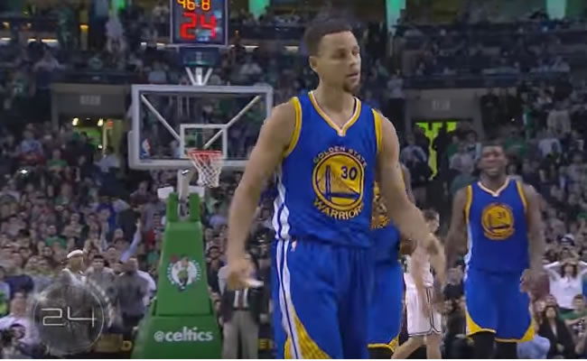 Stephen Curry. Foto: Youtube