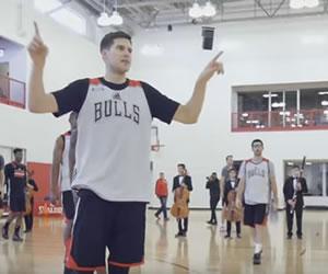 Chicago Bulls y un entrenamiento muy navideño