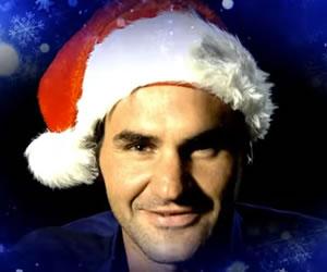 Roger Federer y Novak Djokovic le desean una feliz navidad