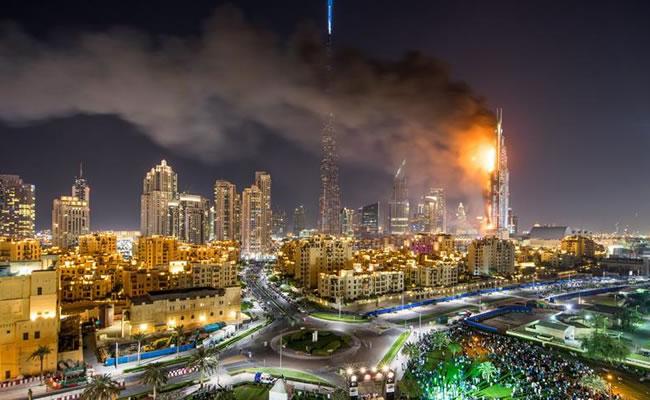 Hotel de Dubái deja una persona muerta en incendio