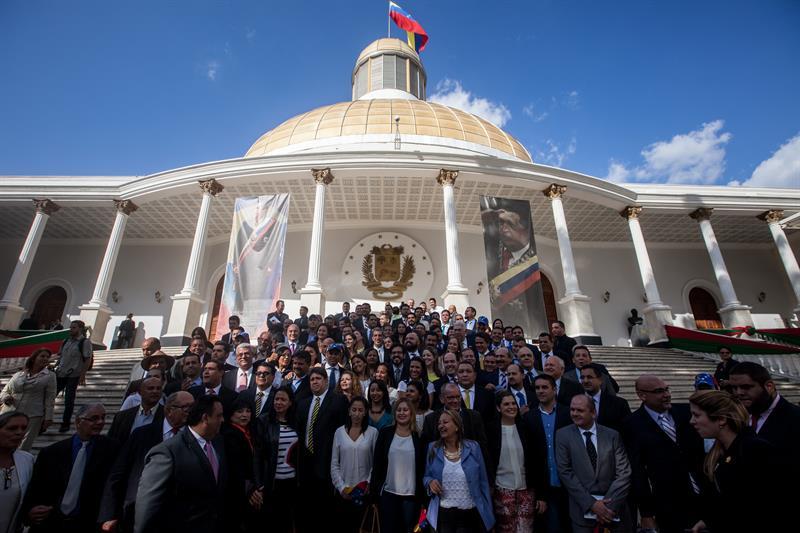 Así se vivió la instalación de la Asamblea Nacional de Venezuela