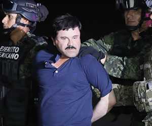 El 'Chapo' Guzmán y su captura