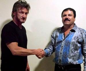 El 'Chapo' Guzmán concede entrevista a Sean Penn y Kate del Castillo