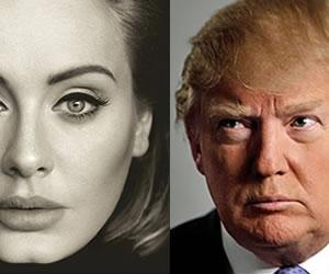 Adele pone en su lugar a Donald Trump