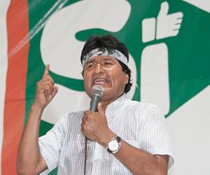 La novela de Evo Morales justo antes del Referendo