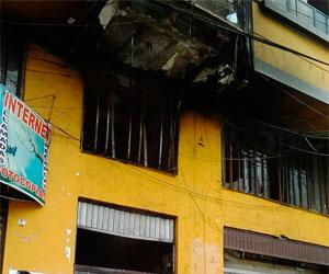 Seis muertos en incendio provocado por marchistas en El Alto