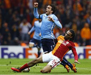 Galatasaray y Lazio empataron