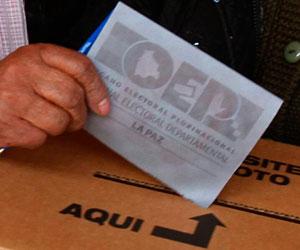 El referendo sobre reelección de Morales, el quinto en la historia de Bolivia