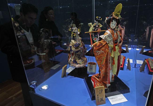 Encantos de la cultura japonesa, en una muestra de muñecas en La Paz