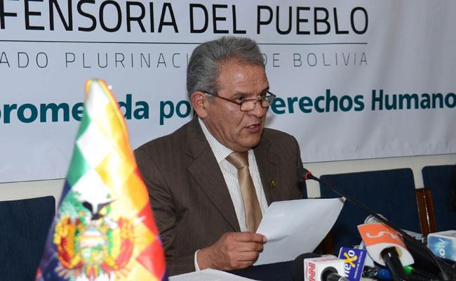 Rolando Villena, defensor del Pueblo. Foto: ABI