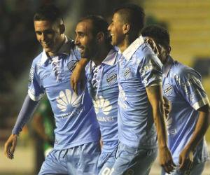 Bolívar ganó, goleó y gustó ante Deportivo Cali