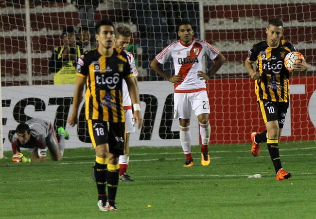 The Strongest logra un sufrido empate con River Plate