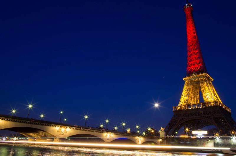 De París a Nueva York, los colores belgas tiñen monumentos de todo el mundo