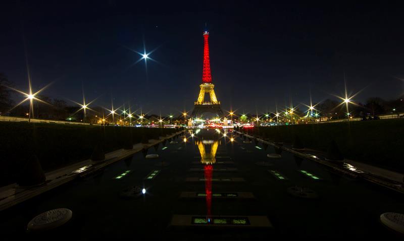 Torre Eiffel, París, Francia. Foto: EFE