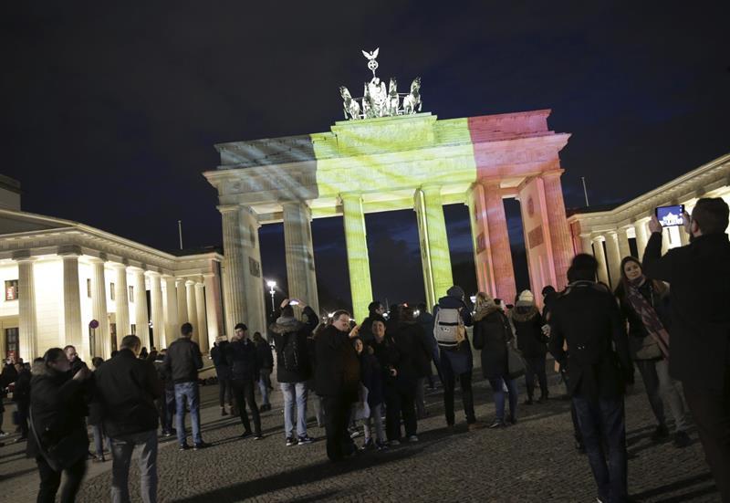 La Puerta de Brandeburgo, Berlín, Alemania. Foto: EFE