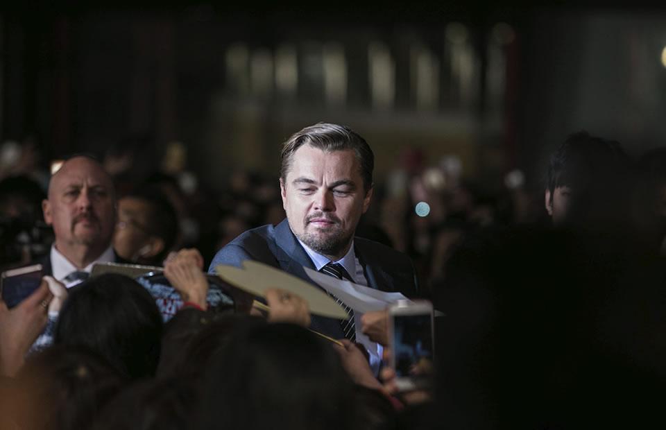 Leonardo DiCaprio felicita a China por combatir el cambio climático