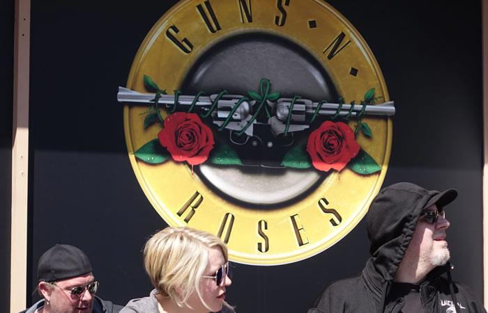 Guns N' Roses dieron un concierto en Los Ángeles