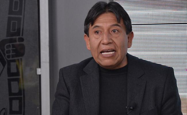 El canciller David Choquehuanca. Foto: ABI