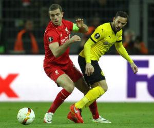 Liga de Europa: Liverpool y un empate valioso ante el Borussia Dortmund