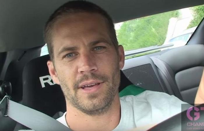 Video de Paul Walker manejando a alta velocidad es viral