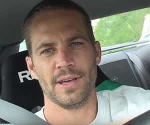 Video de Paul Walker manejando a alta velocidad es viral
