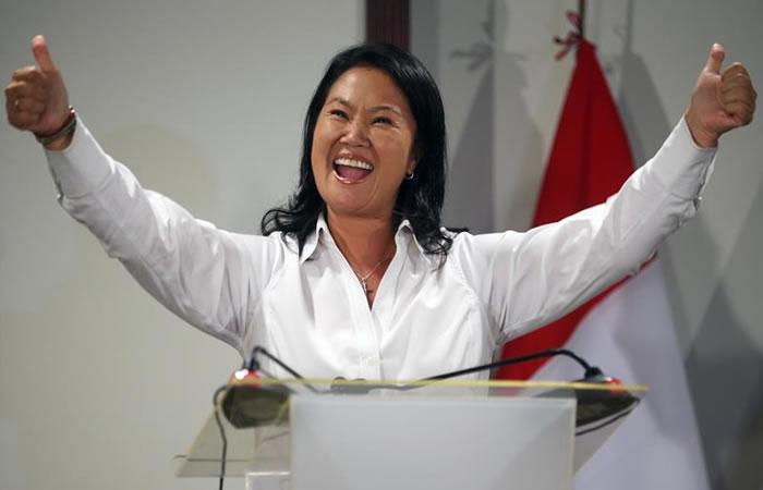 Elecciones Perú 2016: Keiko gana pero irá a segunda vuelta con Kuczynski