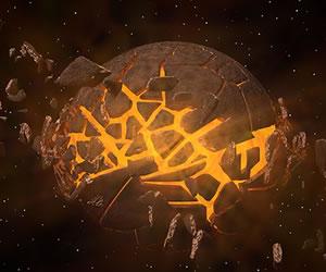 Detectan planetas despojados de atmósfera