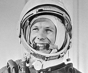 Yuri Gagarin el primer hombre que llegó al espacio
