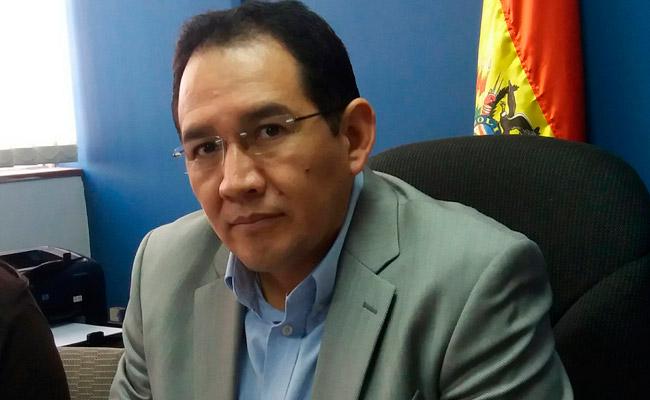 El fiscal general del Estado, Ramiro Guerrero. Foto: ABI