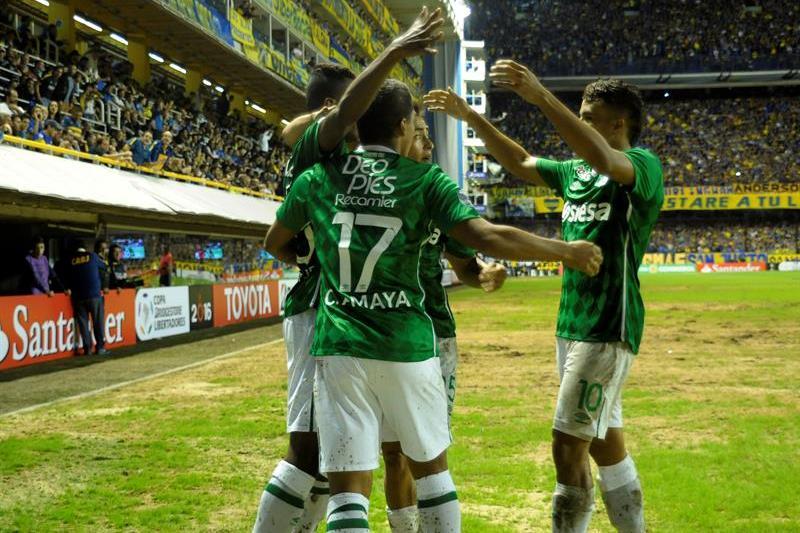 En imágenes, la goleada de Boca Juniors al Deportivo Cali