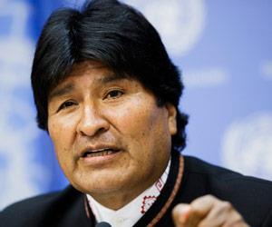 Morales acusa a EEUU de usar guerra antidrogas para controlar a otros países