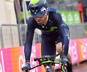 Giro de Italia: Valverde: 'Lo vamos a dar todo porque podemos ganar'