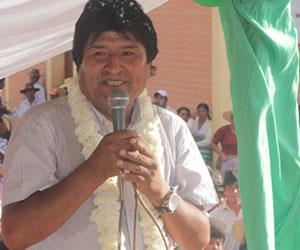 Morales: Chile retrocedió sobre la base militar en la frontera