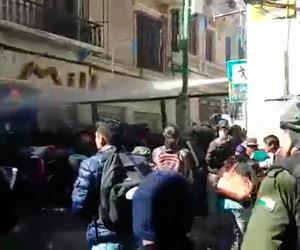 Heridos y detenidos tras represión policial a discapacitados