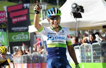 Esteban Chaves líder del Giro de Italia
