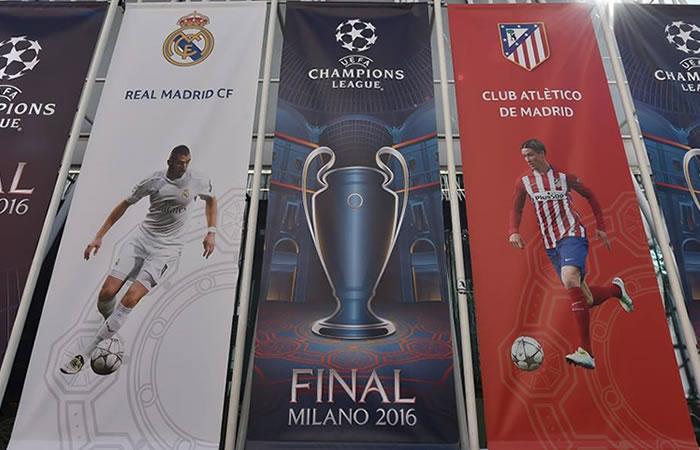 Milán está lista para recibir al Real Madrid y al Atlético de Madrid. Foto: Facebook