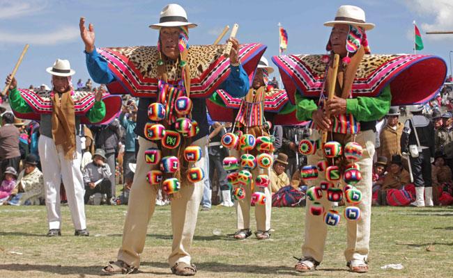 Promocionan Festival de Música y Danza Autóctona de Compi Tauca
