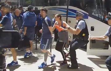 Copa América 2016: Lionel Messi fue atacado por una mujer
