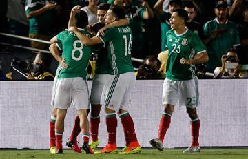 México ganó a Jamaica y se clasificó