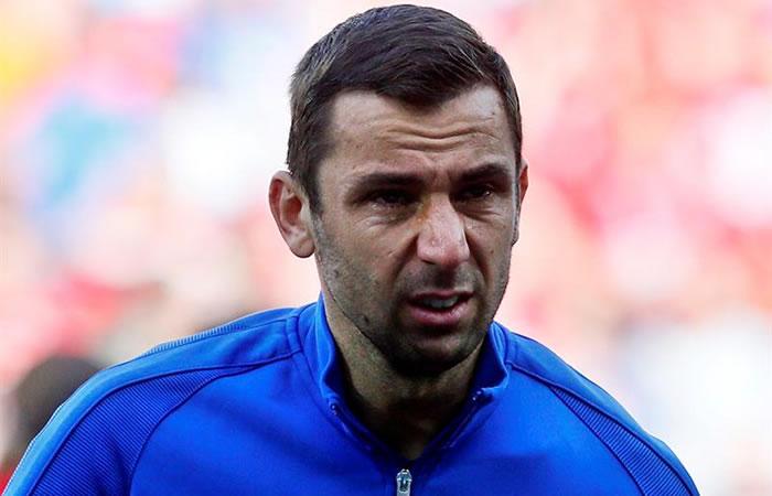 Eurocopa 2016: el llanto conmovedor de un futbolista croata en el himno