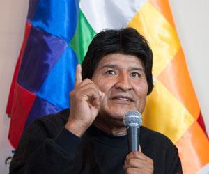 Evo Morales acusa a un periodista chileno de trabajar para hundirlo