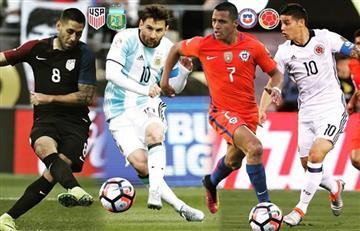 Copa América Centenario: así se jugarán las semifinales